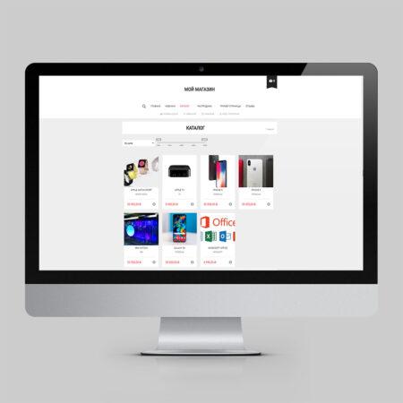 Тема для интернет-магазина электроники [PC]